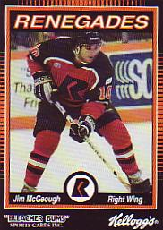 1992 93 Richmond Renegades Jim Mcgeough 13