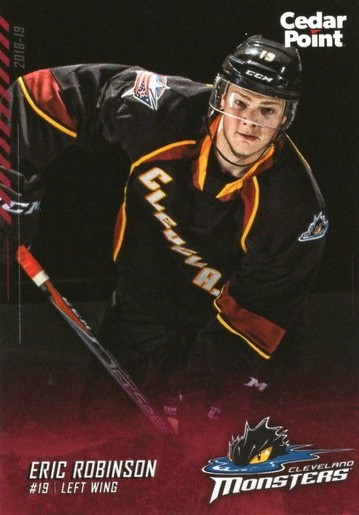 2018 19 Cleveland Monsters Eric Robinson 3 We Specialize In Minor