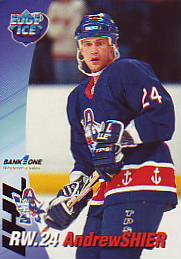 1995 96 Milwaukee Admirals Andrew Shier 16 We Specialize